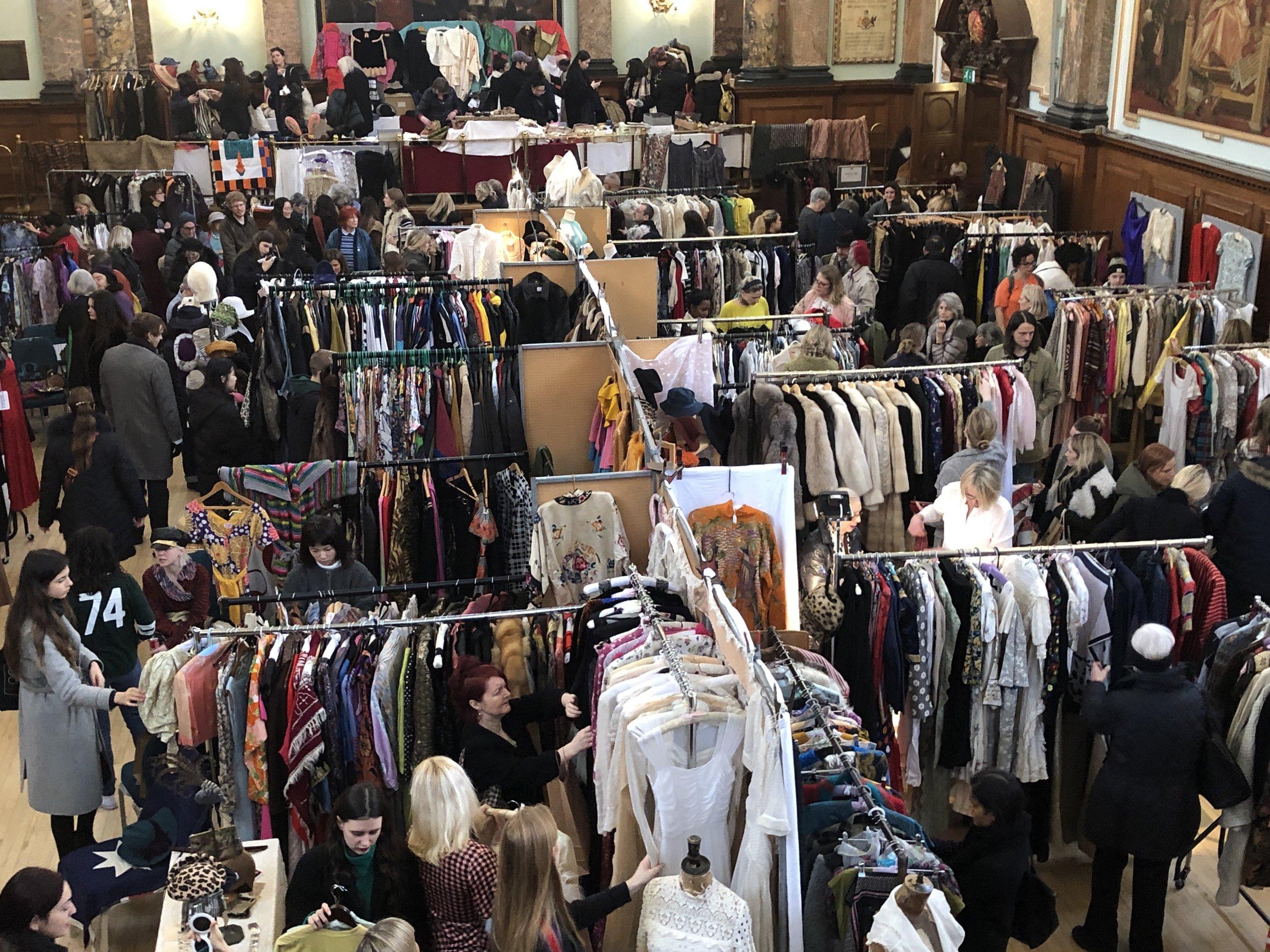 Vintage shopping Frock Me vintage fair London