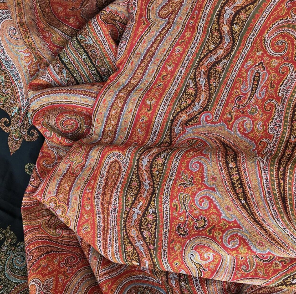 19th century paisley shawl