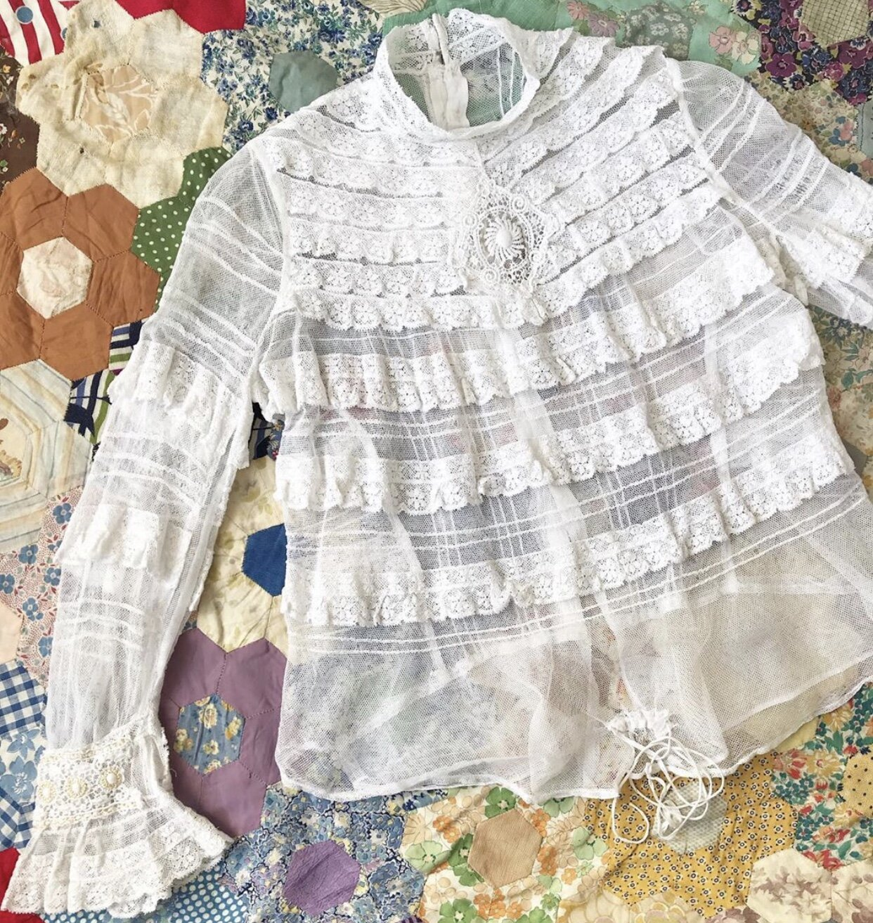 Victorian blouse from  5678 Vintage
