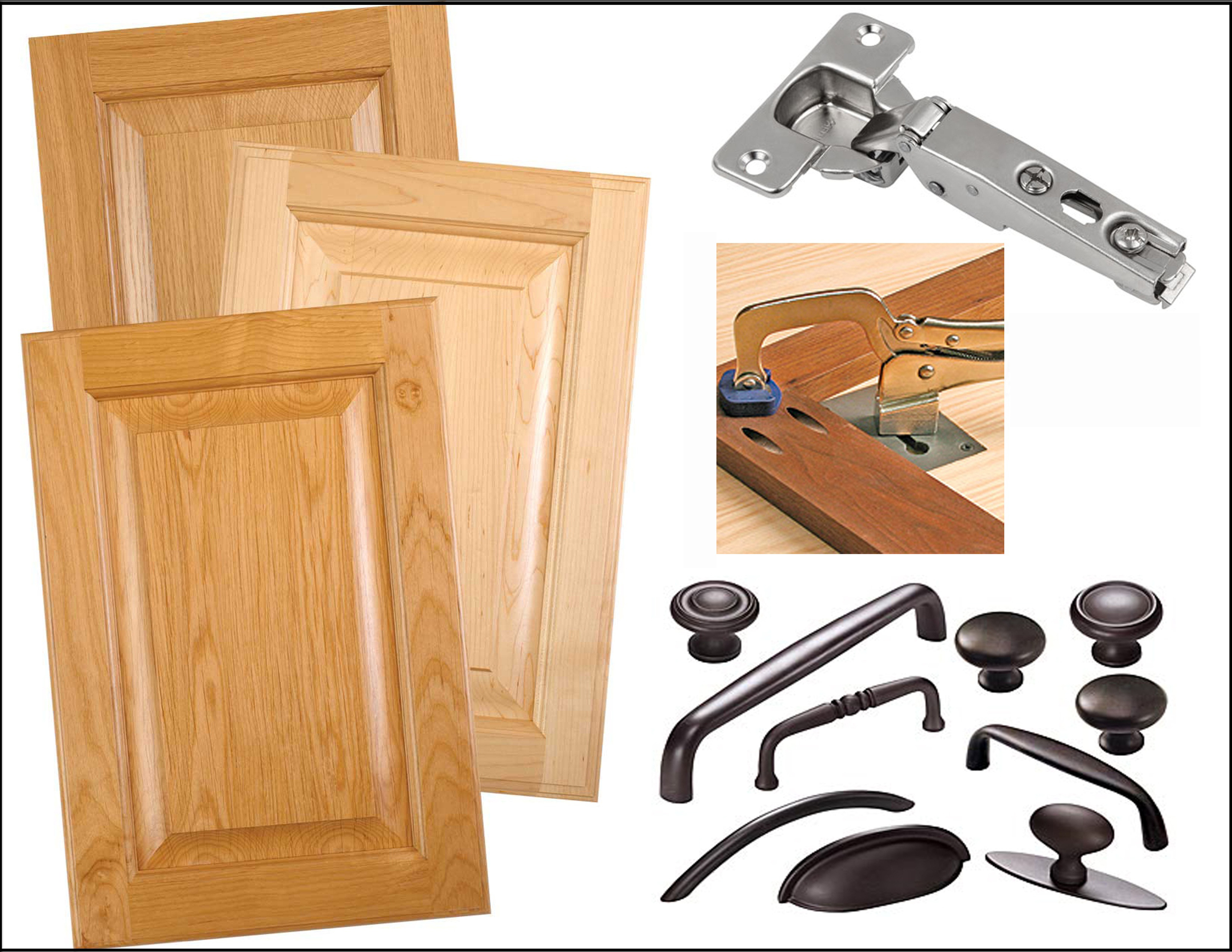 For Cabinetry Shops, Wood Workers, & Individuals interested in purchasing Doors, Drawer Fronts, Drawers, Face Frames, Hinges, Pulls, Knobs, & other Cabinet Components.