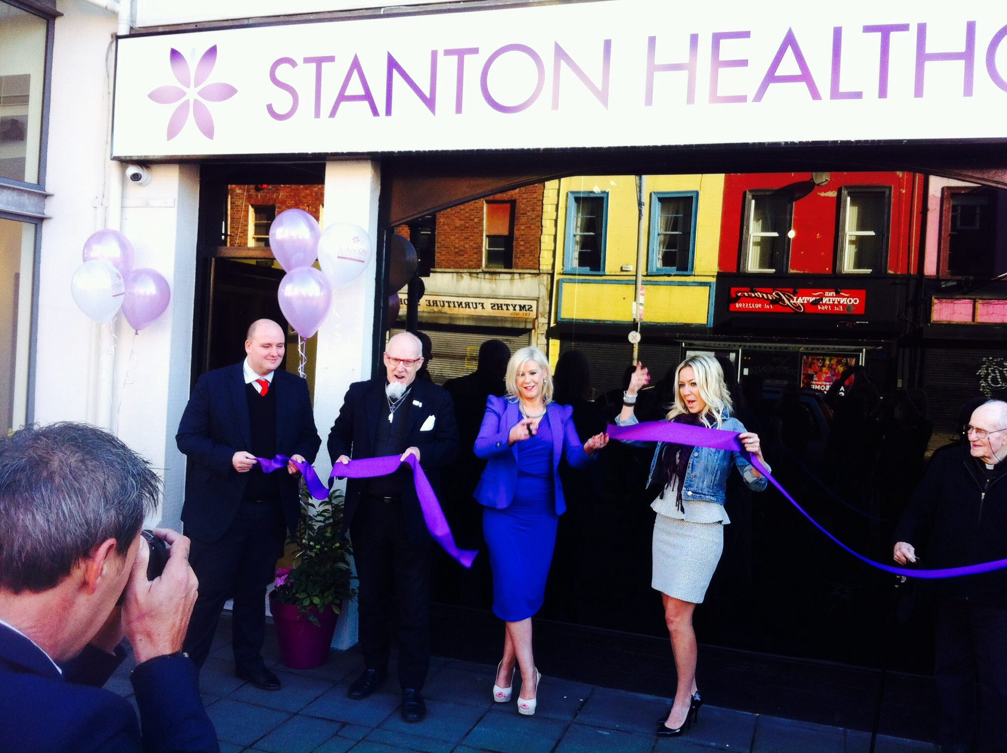 And the purple ribbon has been cut! Another life-affirming clinic is open and offering care to expectant mothers.