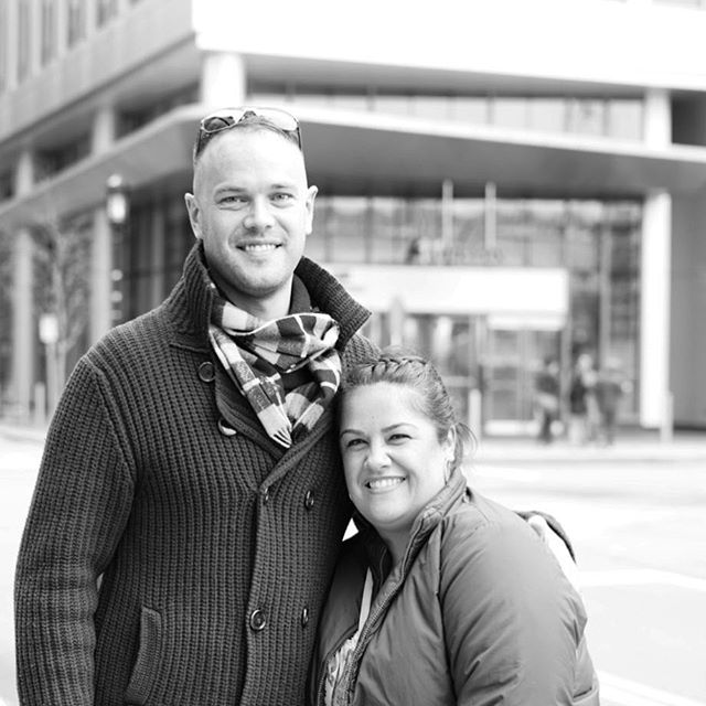 I met this couple on my way to a #portraitmeet at the #ICA, and they were gracious enough to let me photograph them. It's great to witness joyful couples! I wish the greater happiness and longevity... #joy #longevity #couplegoals #partnership #bandw #blackandwhitephotography #portraitphotography #portraiture #sonya7rii #50mm