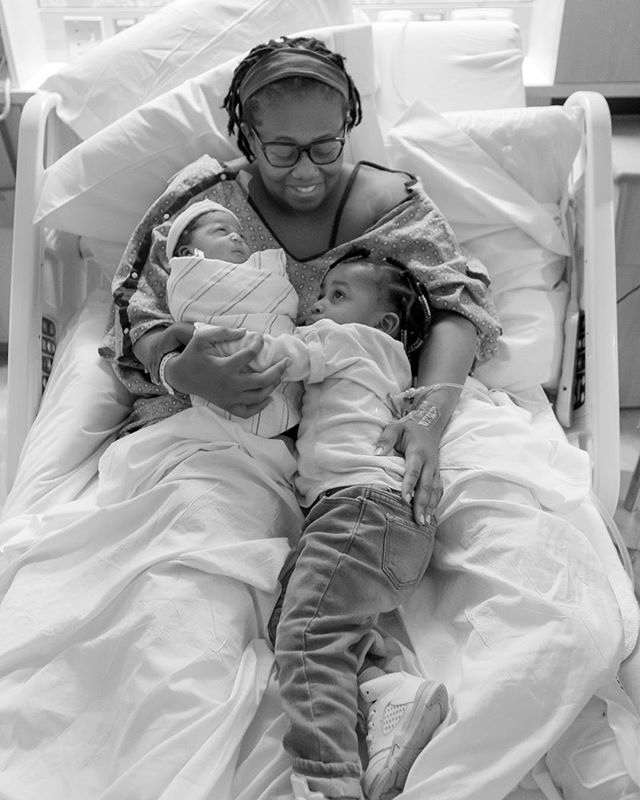 @mizlulubelle and her Ladies! So grateful for the opportunity to capture this his moment! #newborn #newbornphotography #portraitphotography #portrait #documentaryphotography #blackandwhite #blackandwhitephotography #bnwphotography #monochromatic #ladies