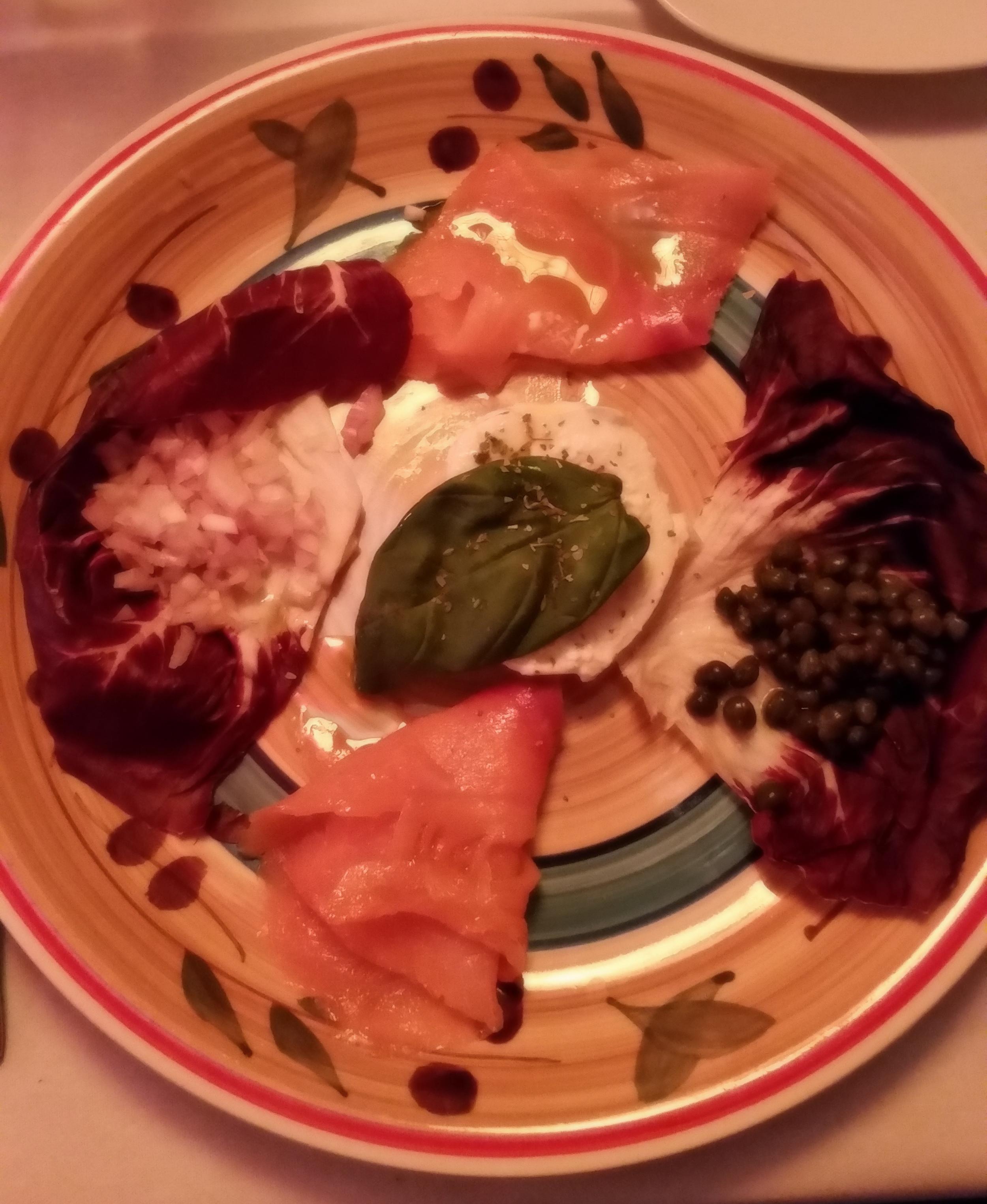 Italian Style Lox Plate with Burrata