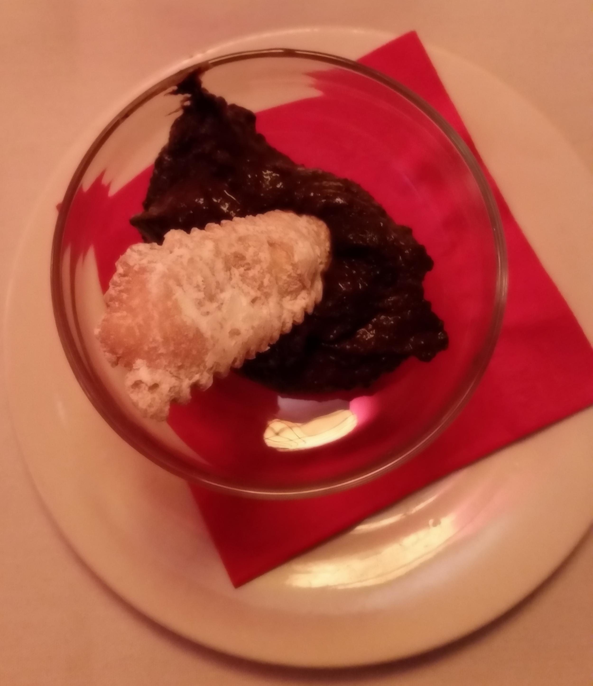 Sanguinaccio: Chocolate Pudding with Pig's Blood