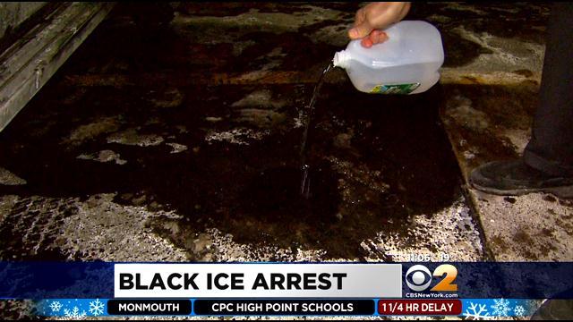 That Black Ice will get ya!