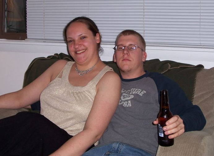 The image that made me realize it was time for a change. New Year's Eve 2005 with my friend Jeff.