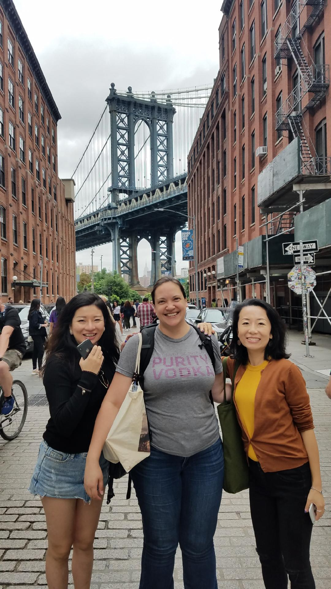 A Private Food Tour of DUMBO, created for some international guests who'd seen the standard sites our city has to offer, and wanted to taste another side of the hip borough.