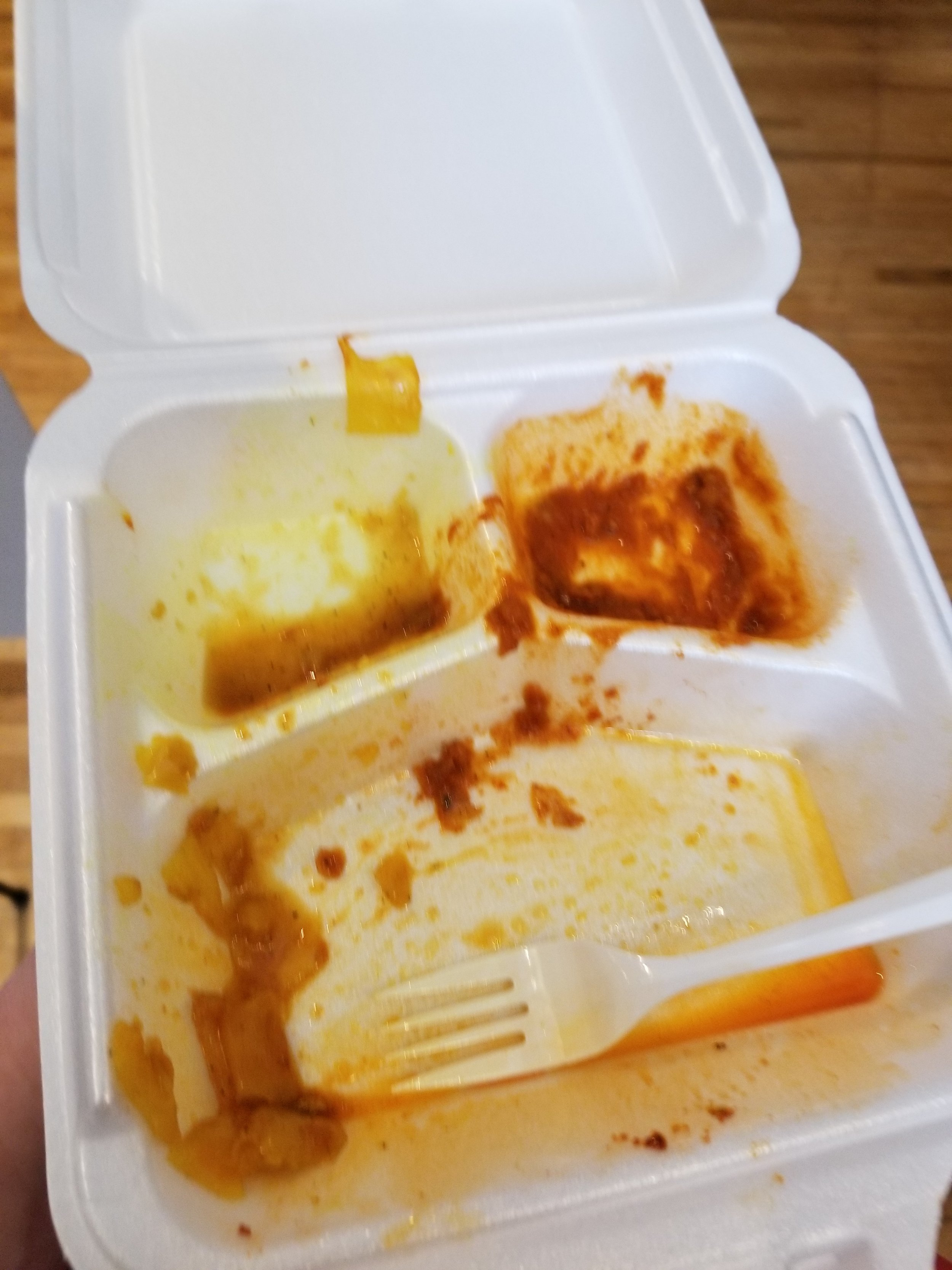 As you can see, I thoroughly enjoyed the dish…all of it.