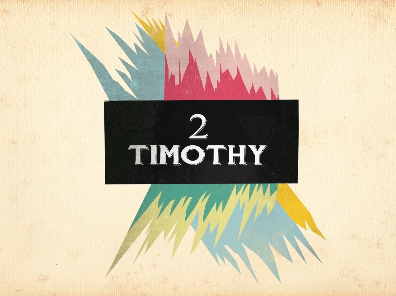 2nd Timothy- Fall 2014