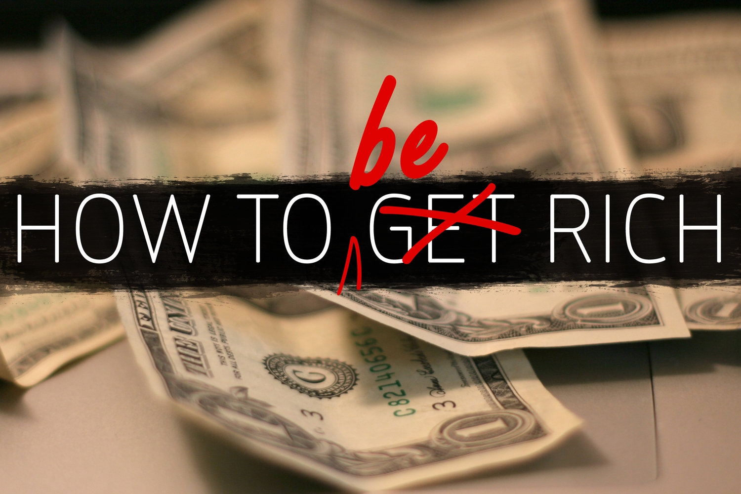 How to Be Rich- Winter 2015