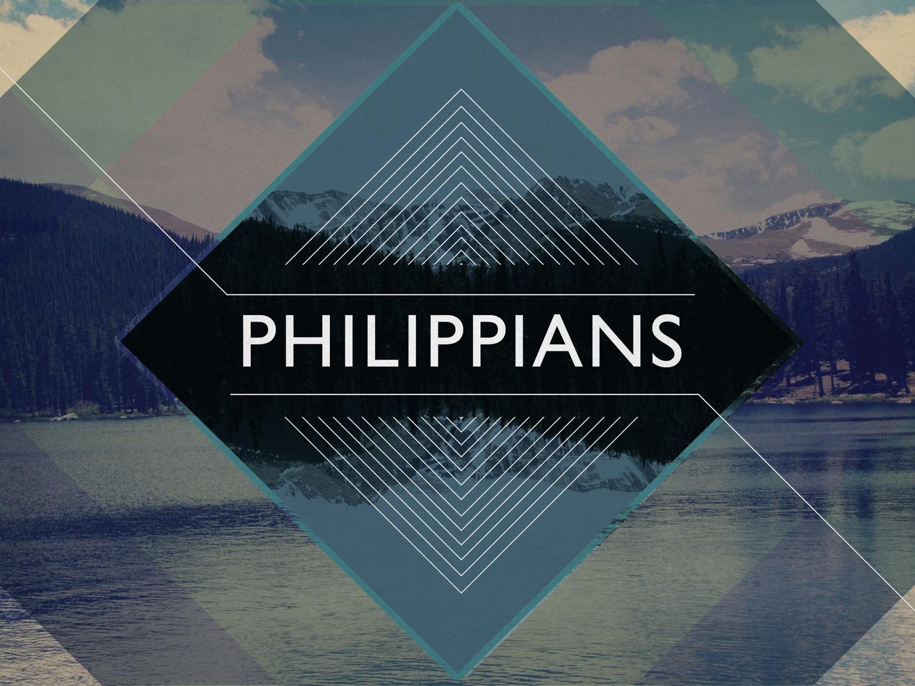 Philippians- Spring 2015