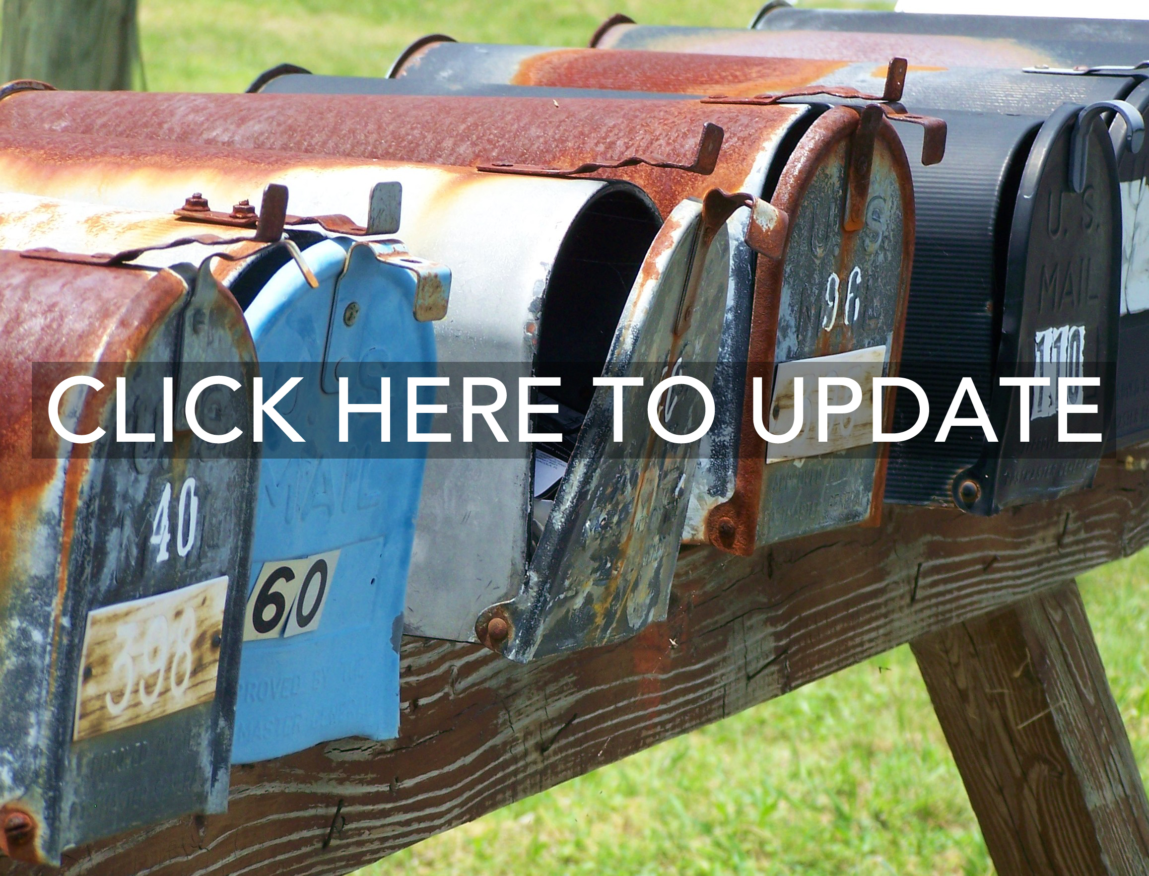 Update your directory information here.