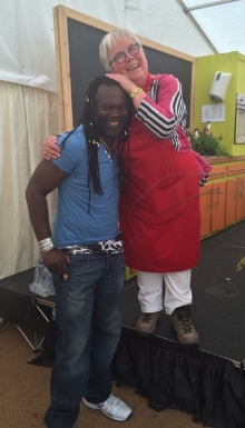 Levi Roots at the Chilli Fiesta
