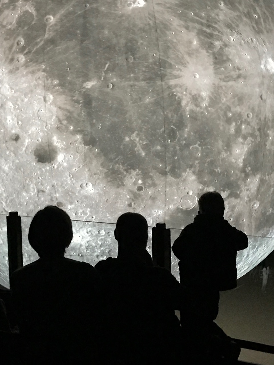 The moon was in Stromness for the science festival
