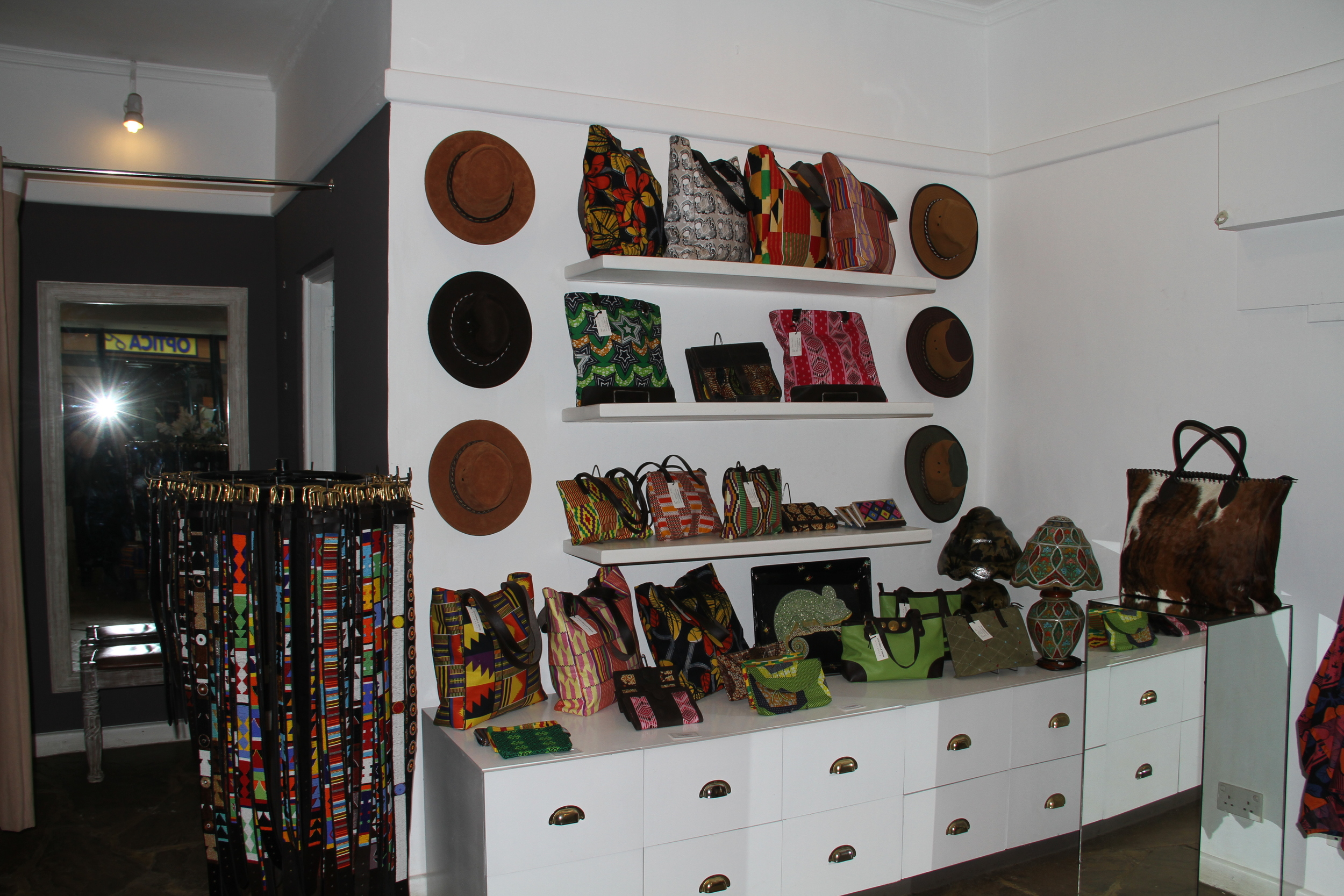 A view of Annabelle Thom's Nairobi Shop.