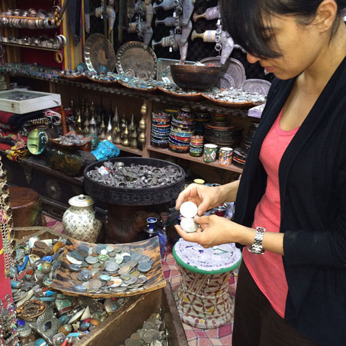 Shikha Vincent sourcing Old World Coins