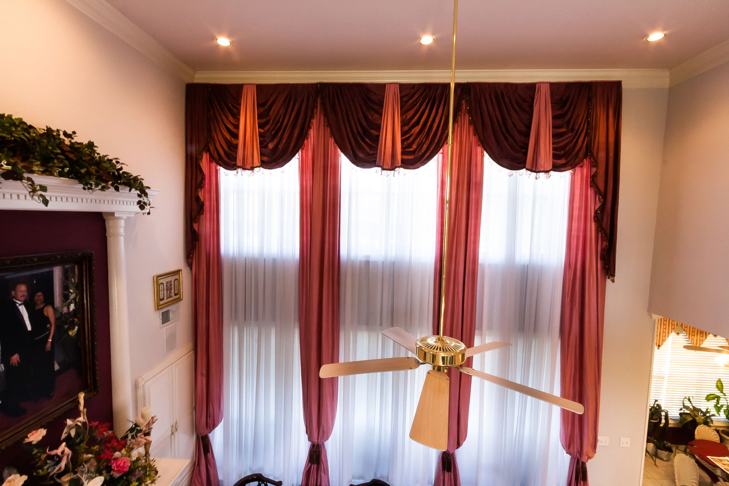 Long Curtain Valance