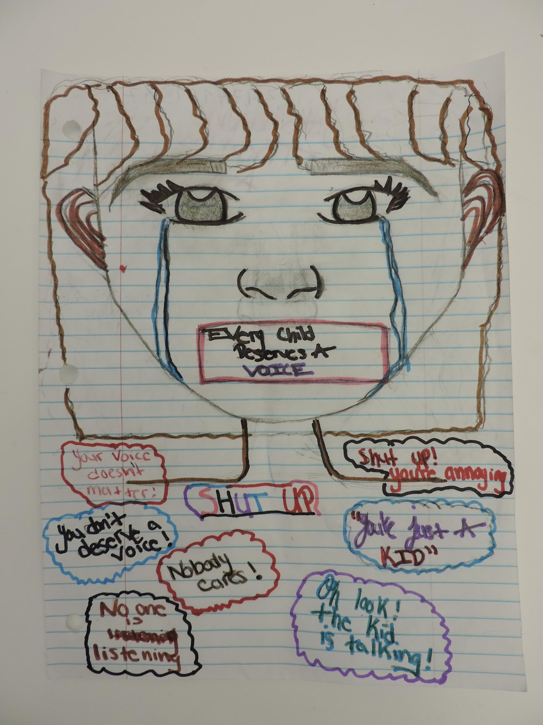 High School:  Yah-Shanda T., Age 14