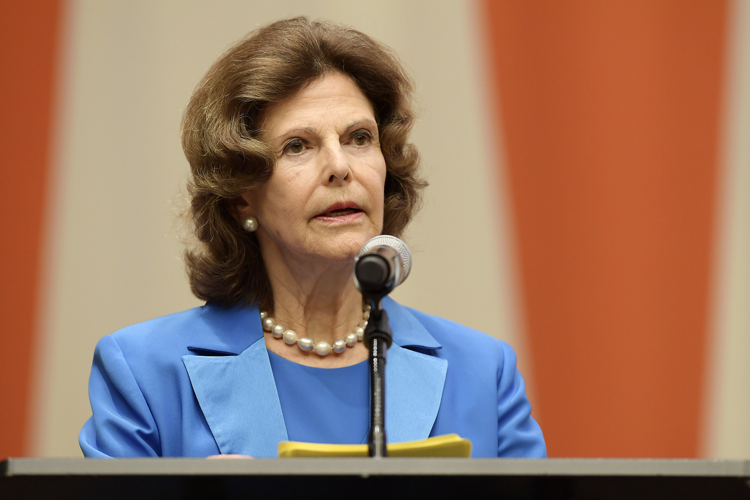 H.M. QUEEN SILVIA OF SWEDEN SPEECH -