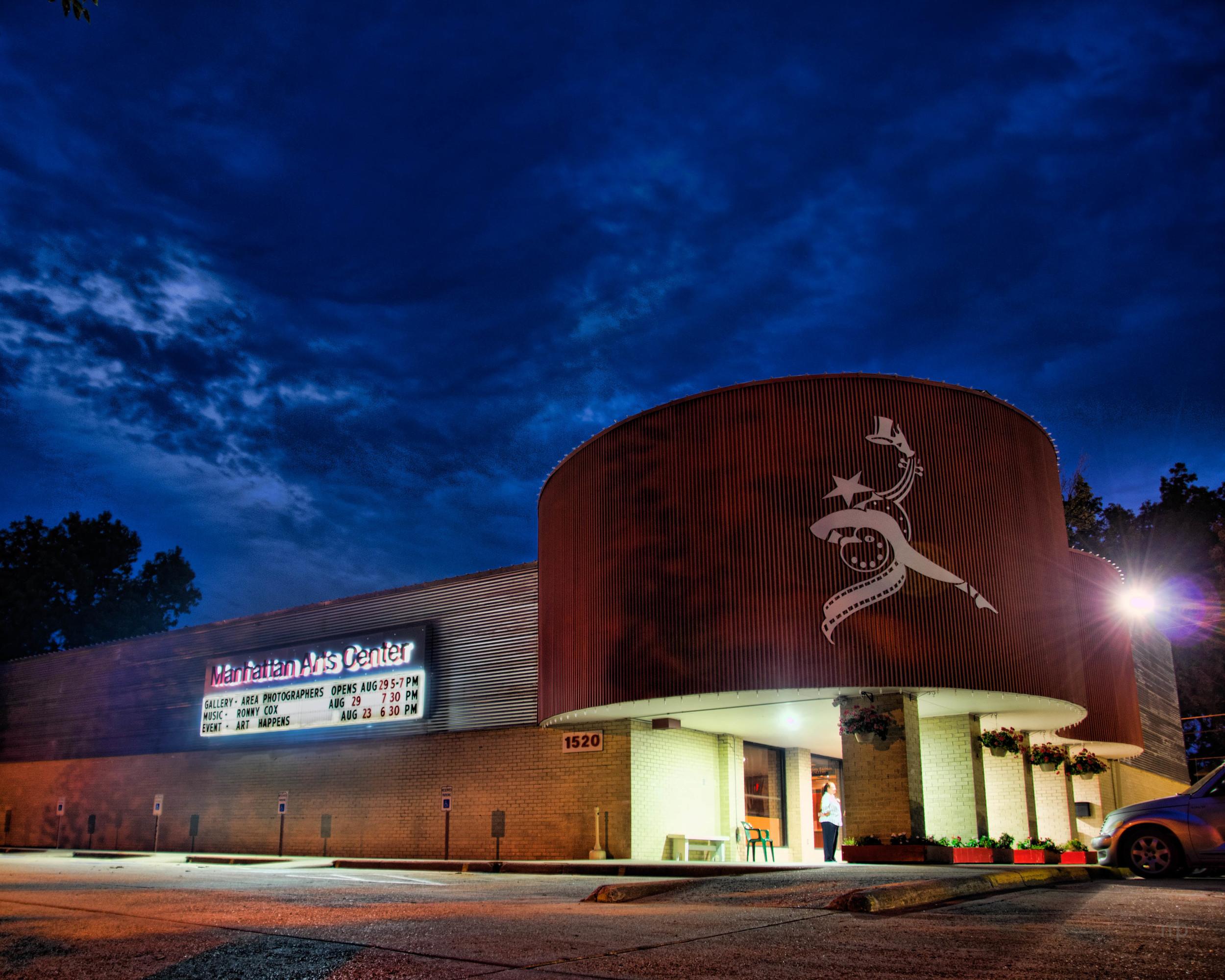 MAC at Night. Manhattan Arts Center.