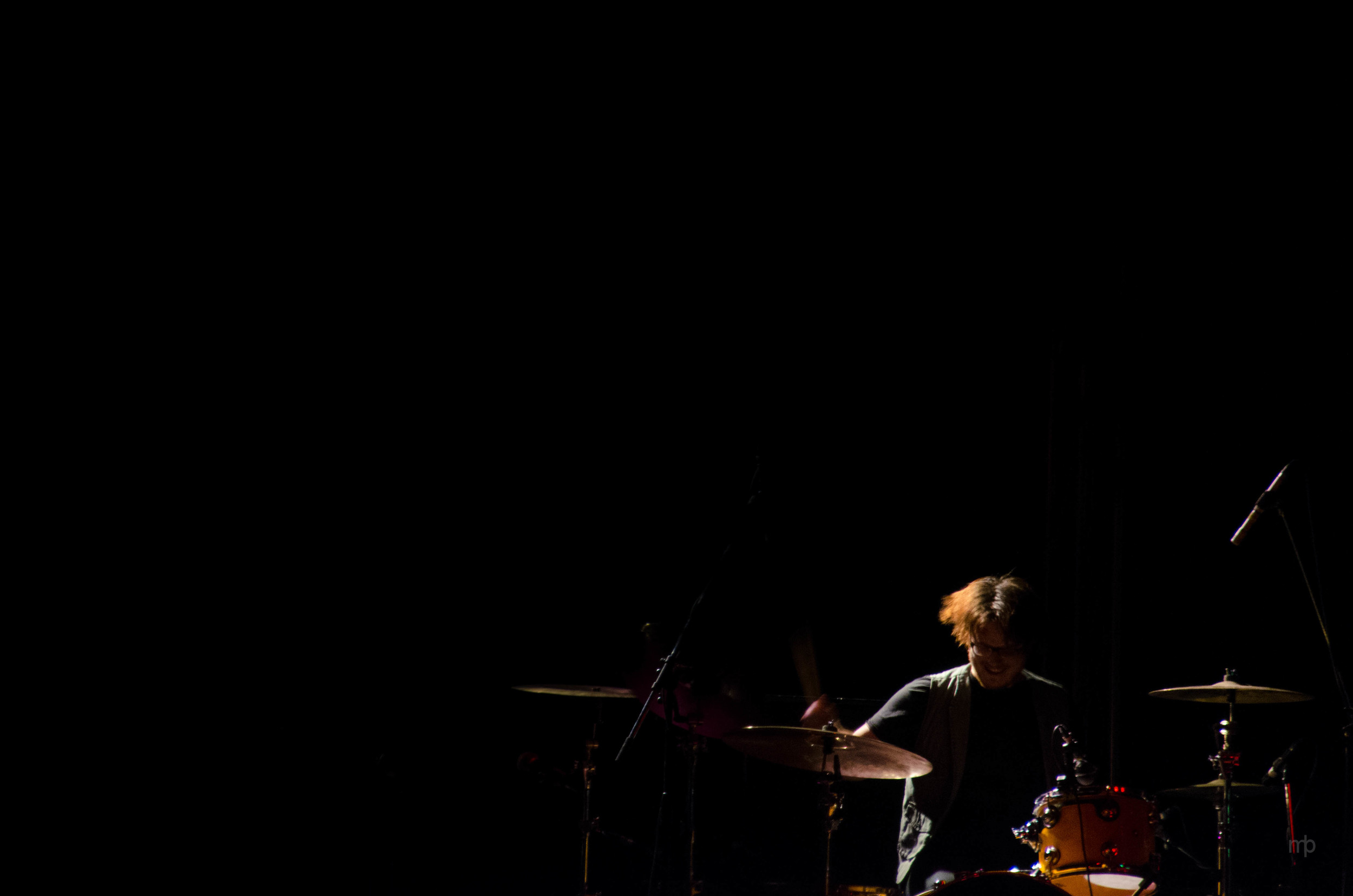 Drumming for Lindsey Stirling at Kansas State University