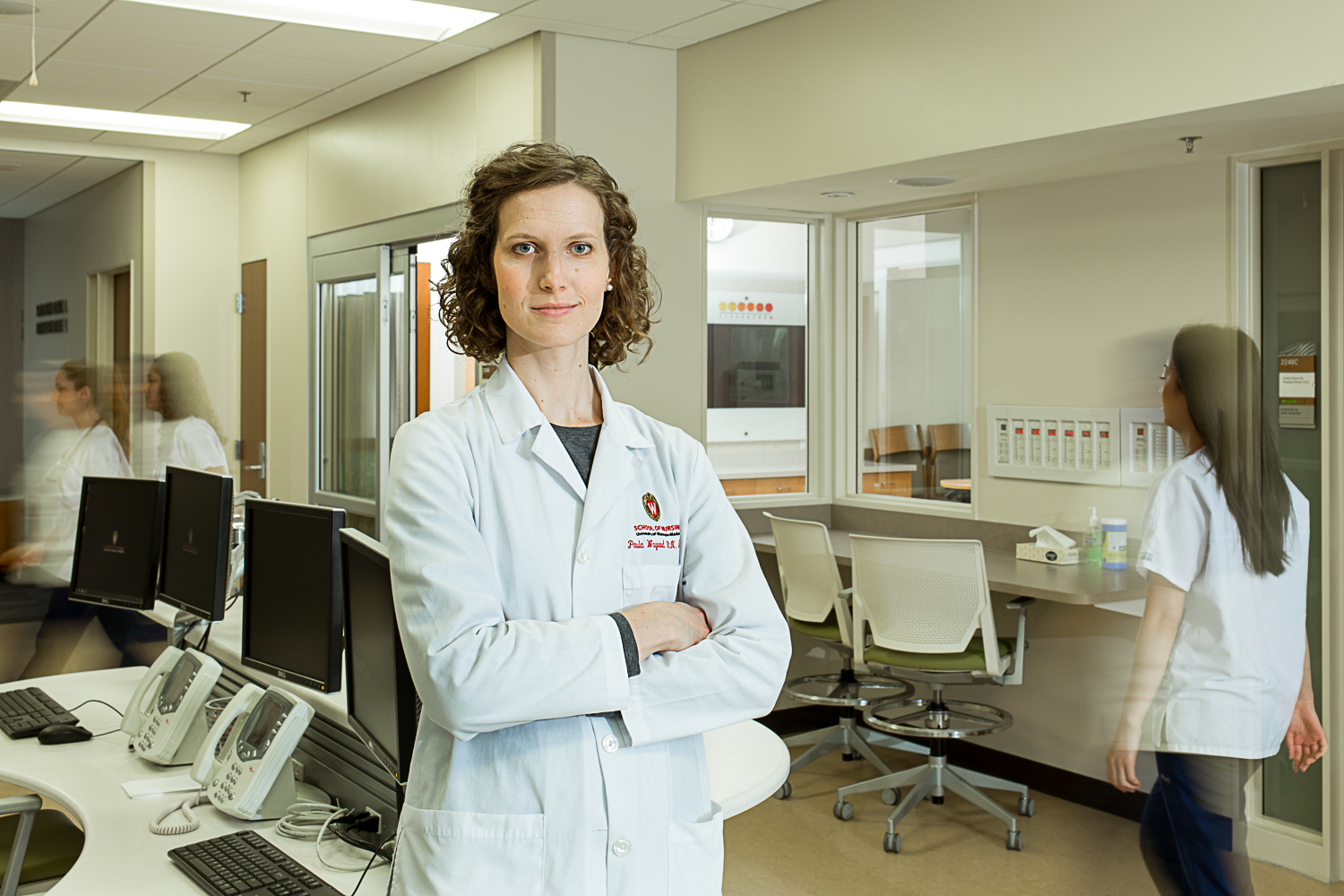 portrait of a UW hospital doctor
