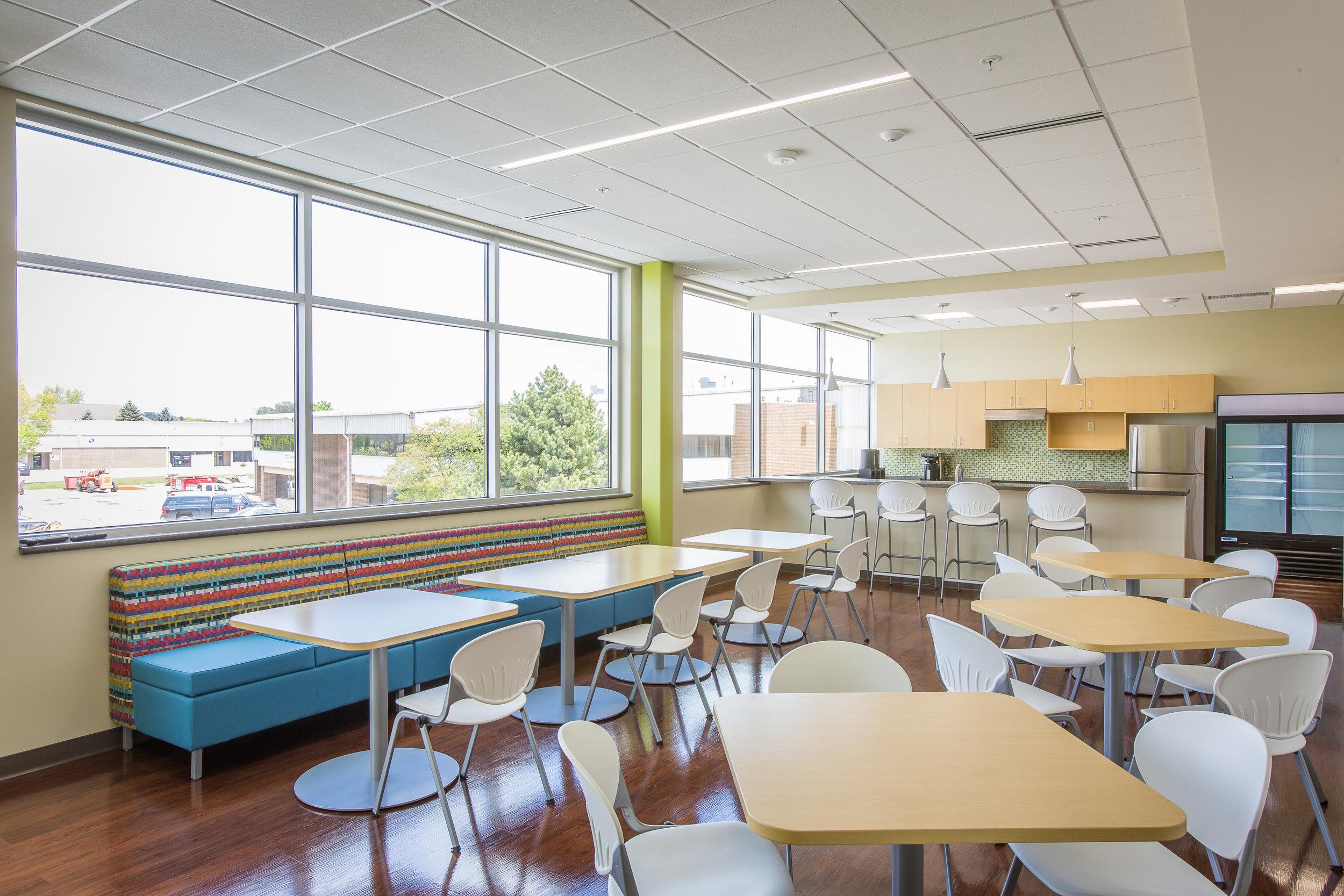 modern cafeteria