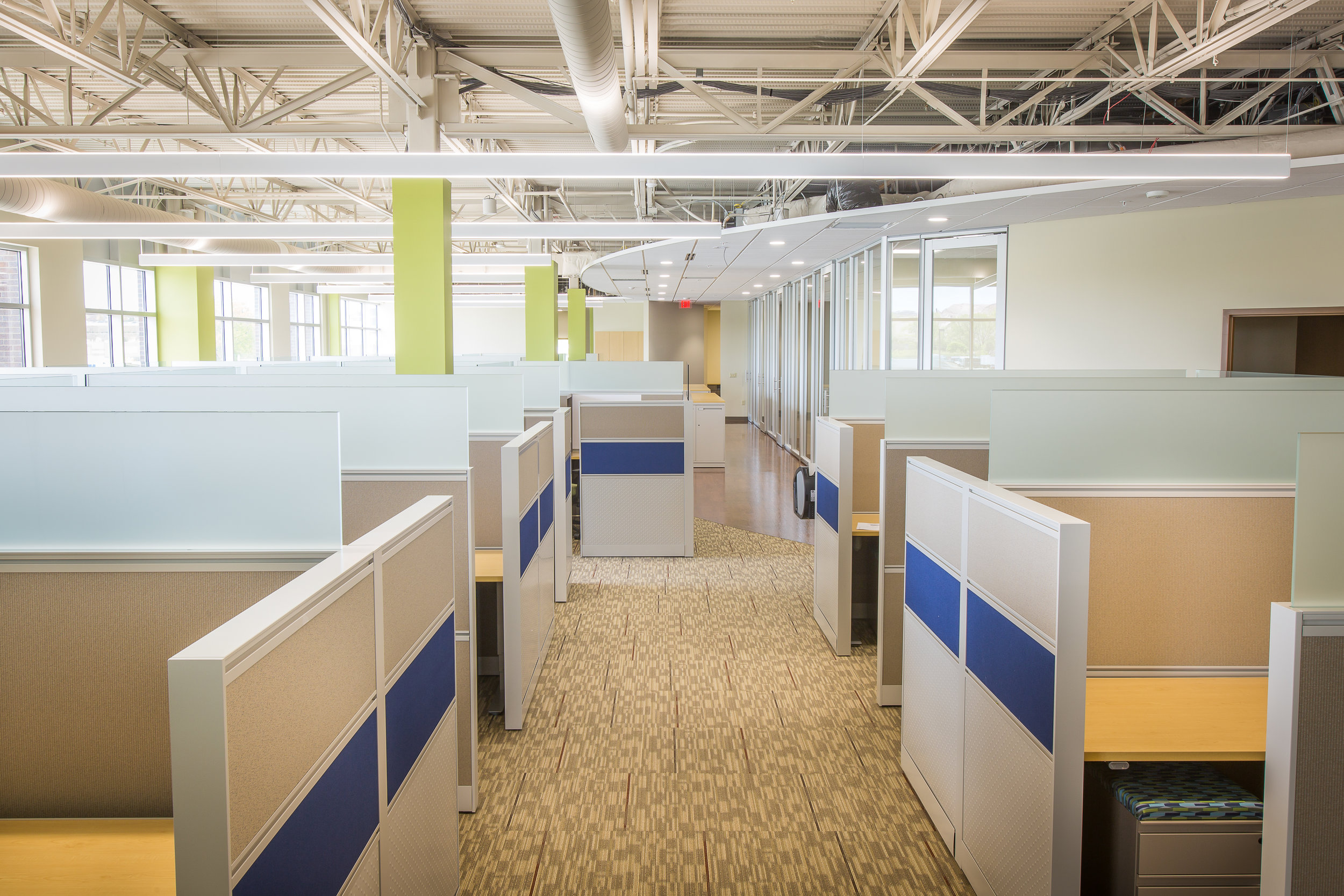 modern office cubical