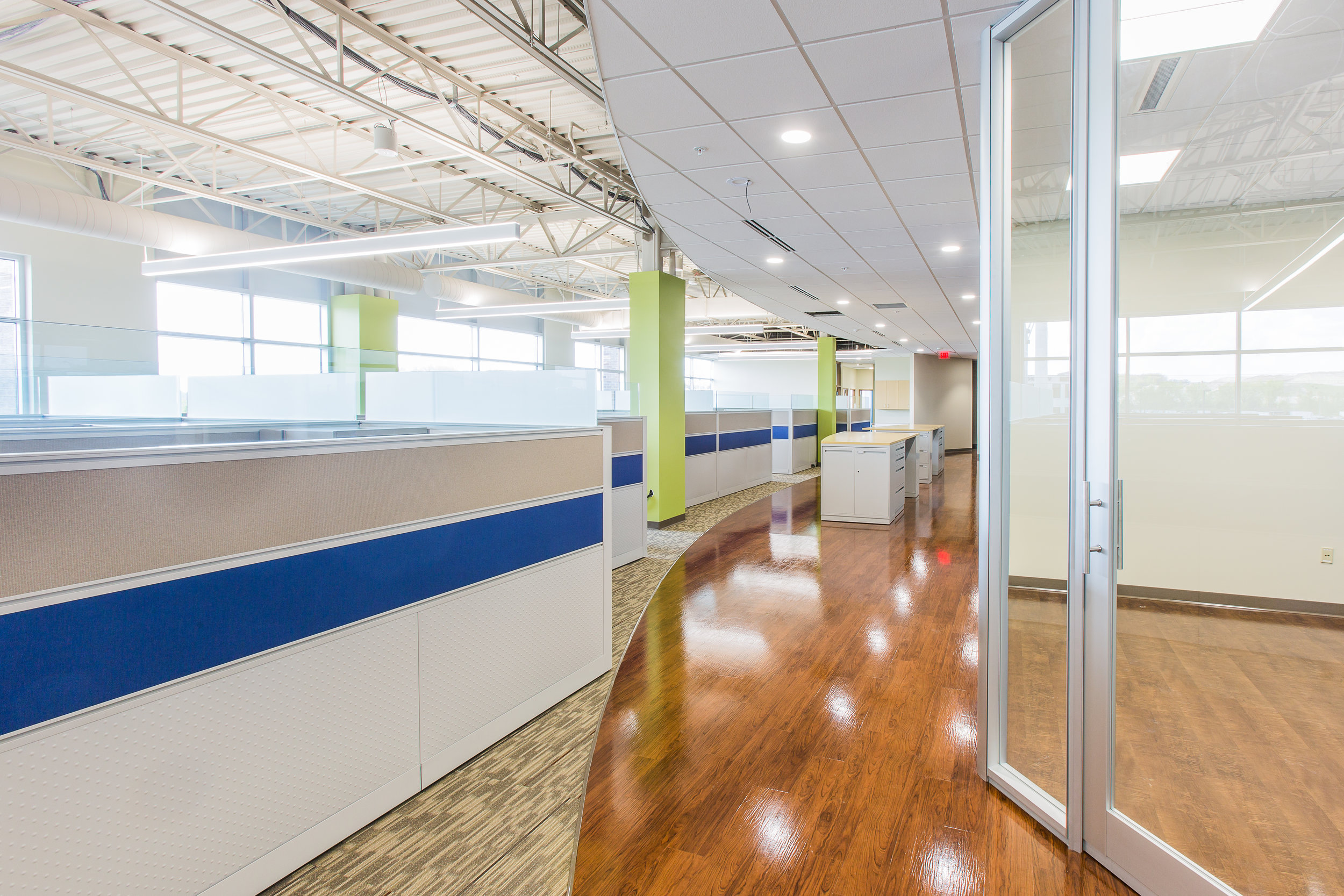 modern office interior in madison wi