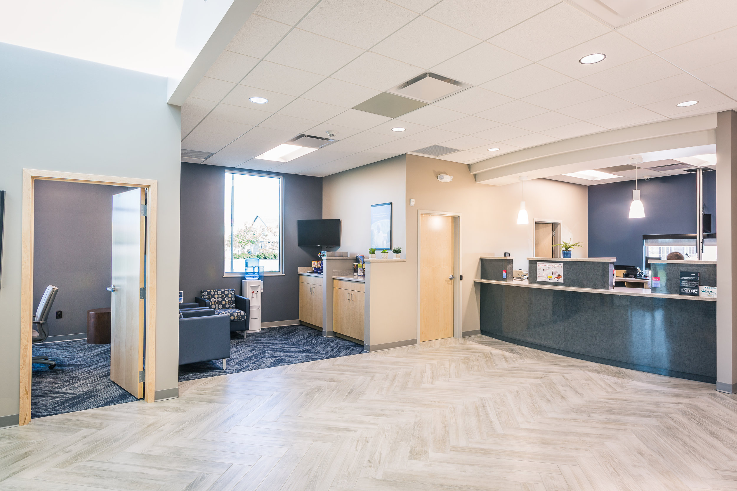 interior commercial design photography