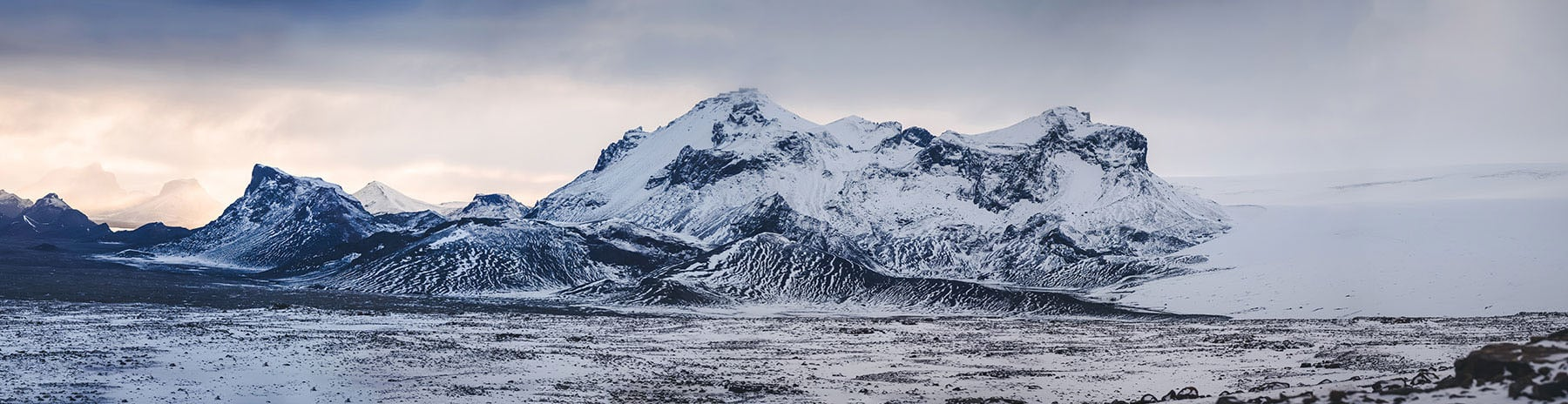 The second largest glacier in Iceland, Langjökull (long glacier) features ice caves, amazing views, and a smooth area perfect for snow-mobiling, or in our case, snow mo-running.