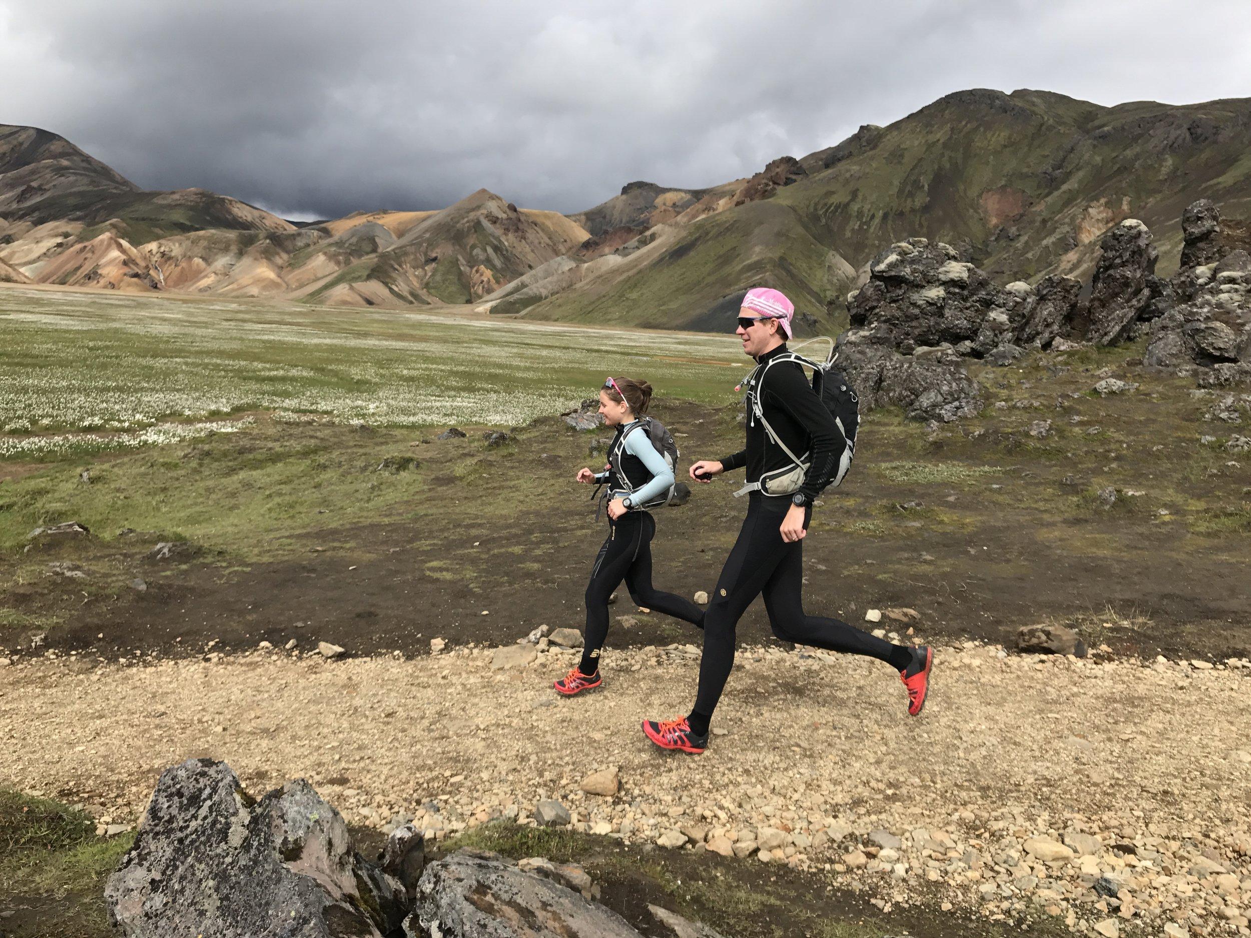 Laugavegur Trail Running