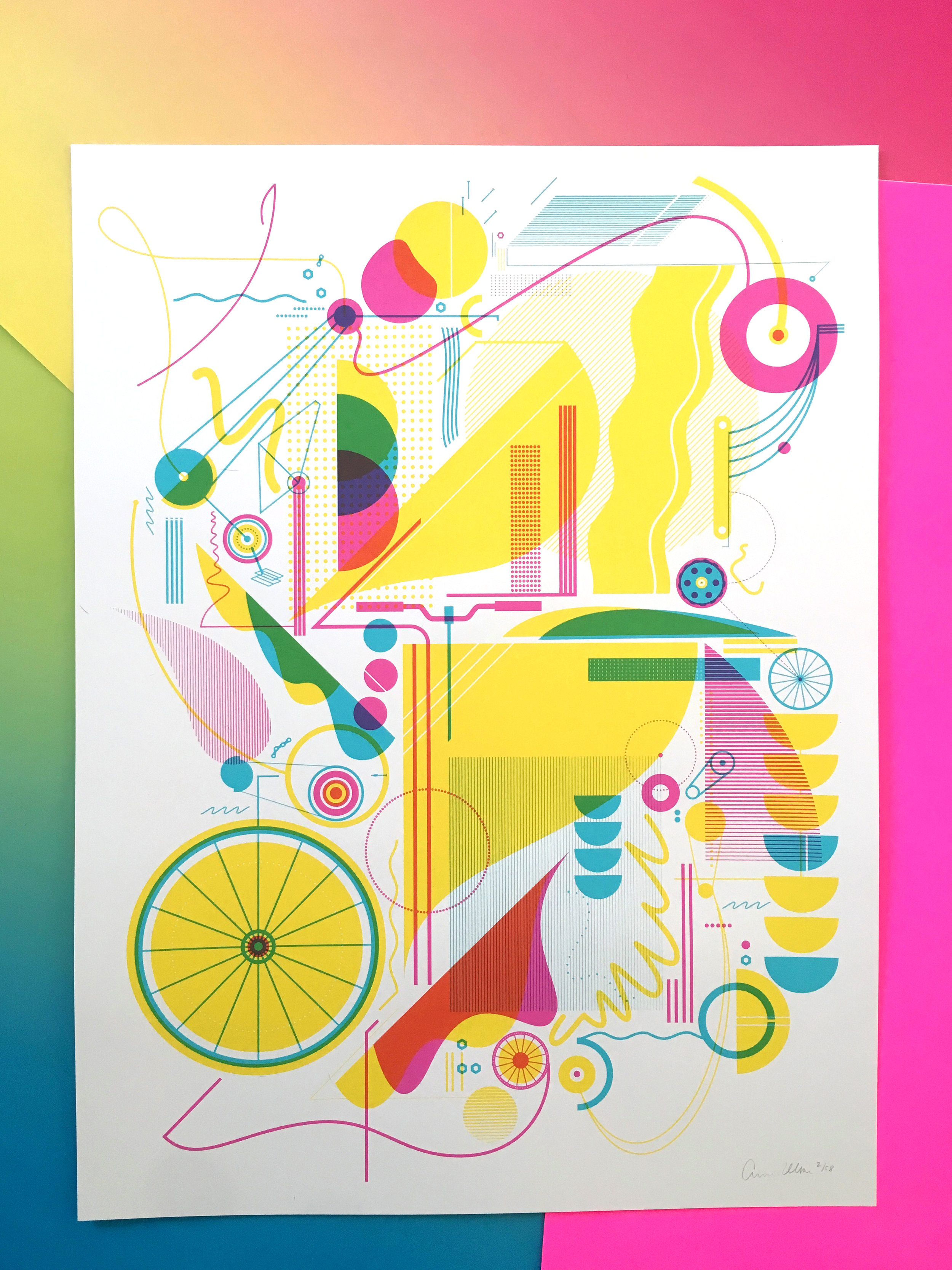 Created another Artcrank poster
