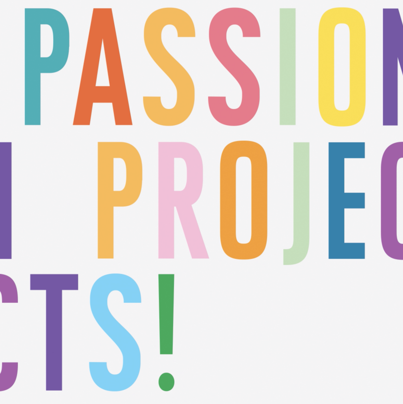 Hosted a workshop with the AIGA on Passion Projects