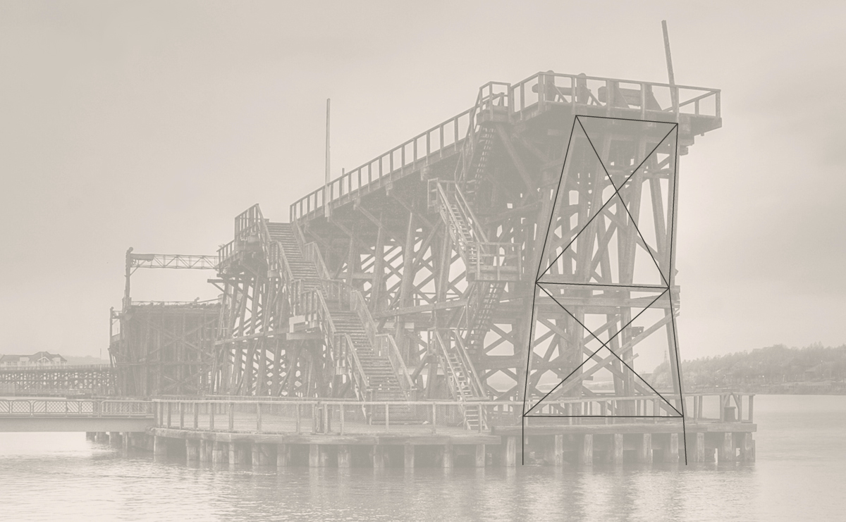 Opened in 1893 the Staiths operated for over 85 years and aided the momentum of the industrial revolution.