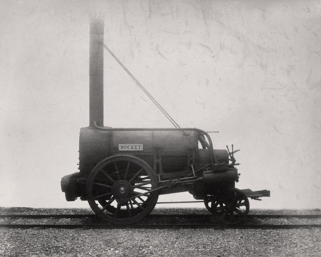 Stephenson's Rocket, 1829