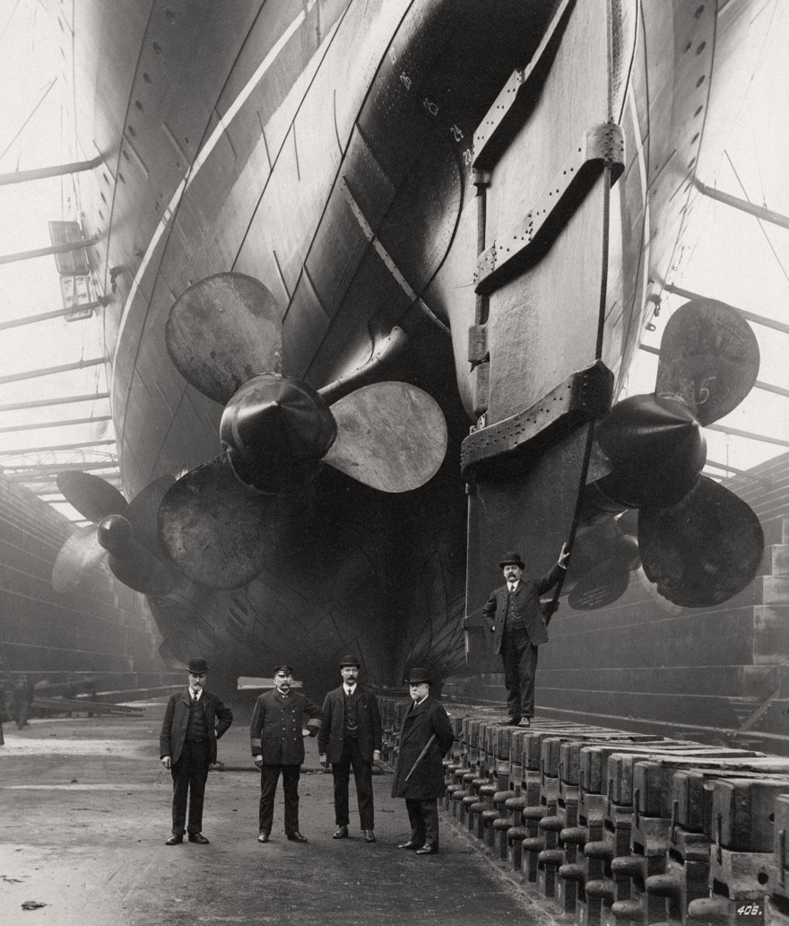Shipbuilding on the Tyne, 1906