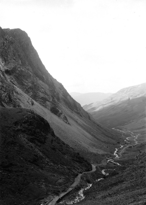 Honister Pass, The Lake District, the home of Cumbrian slate