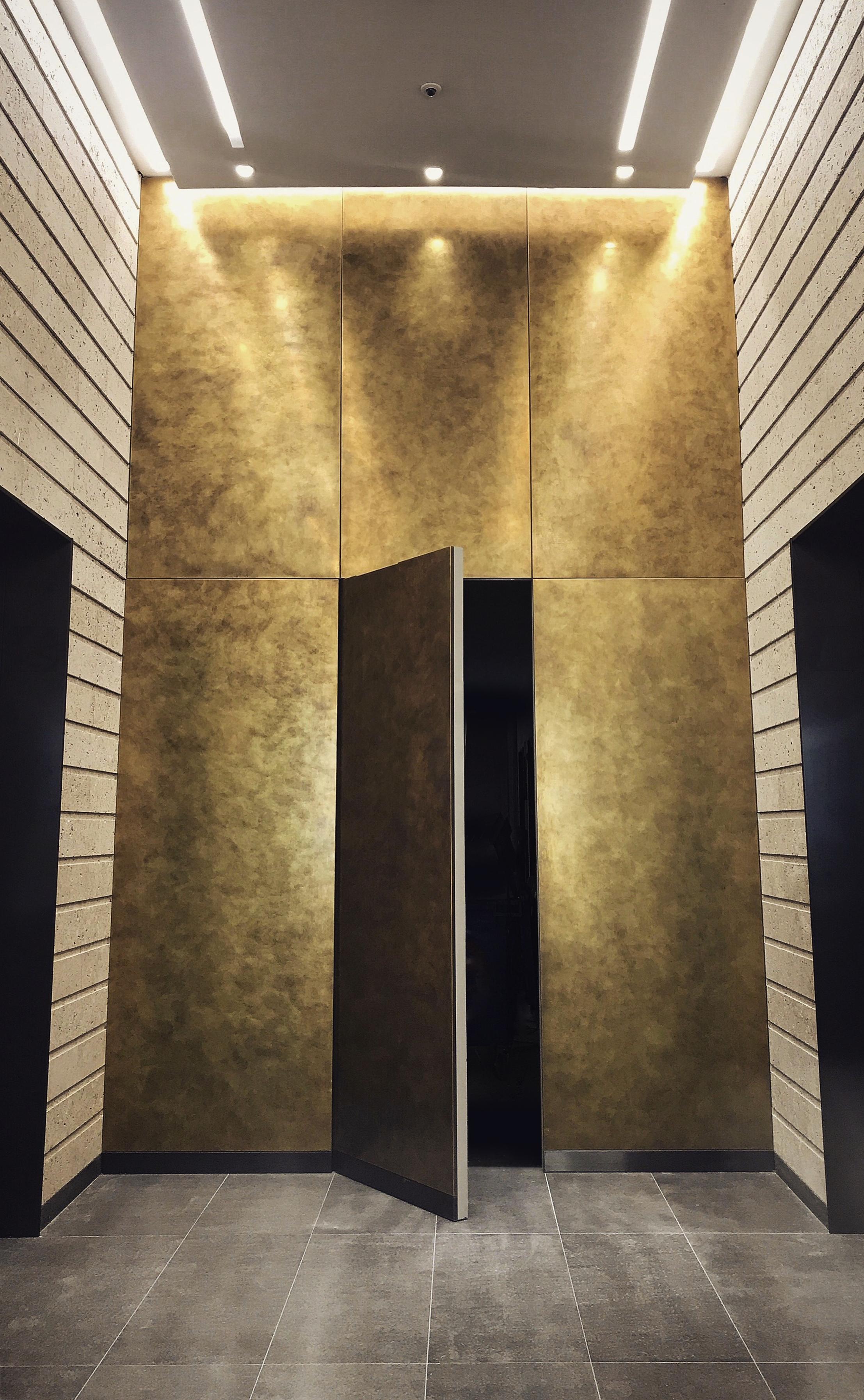 Barts Brass Lift Lobby.jpg