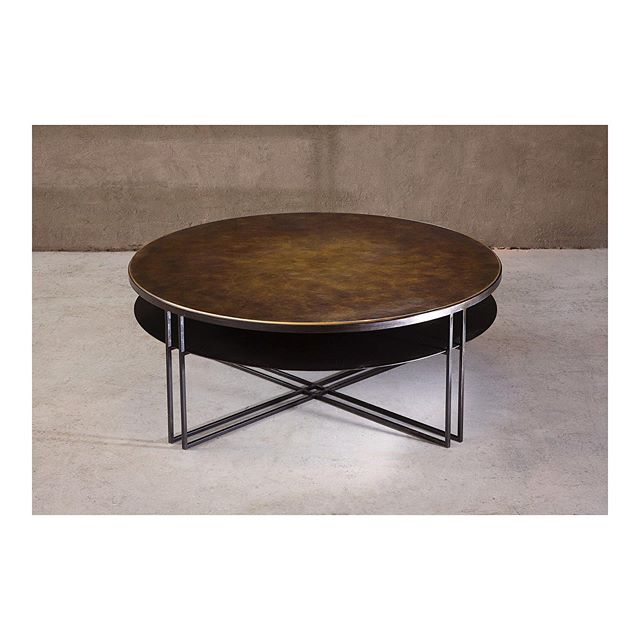 Round Binate coffee table