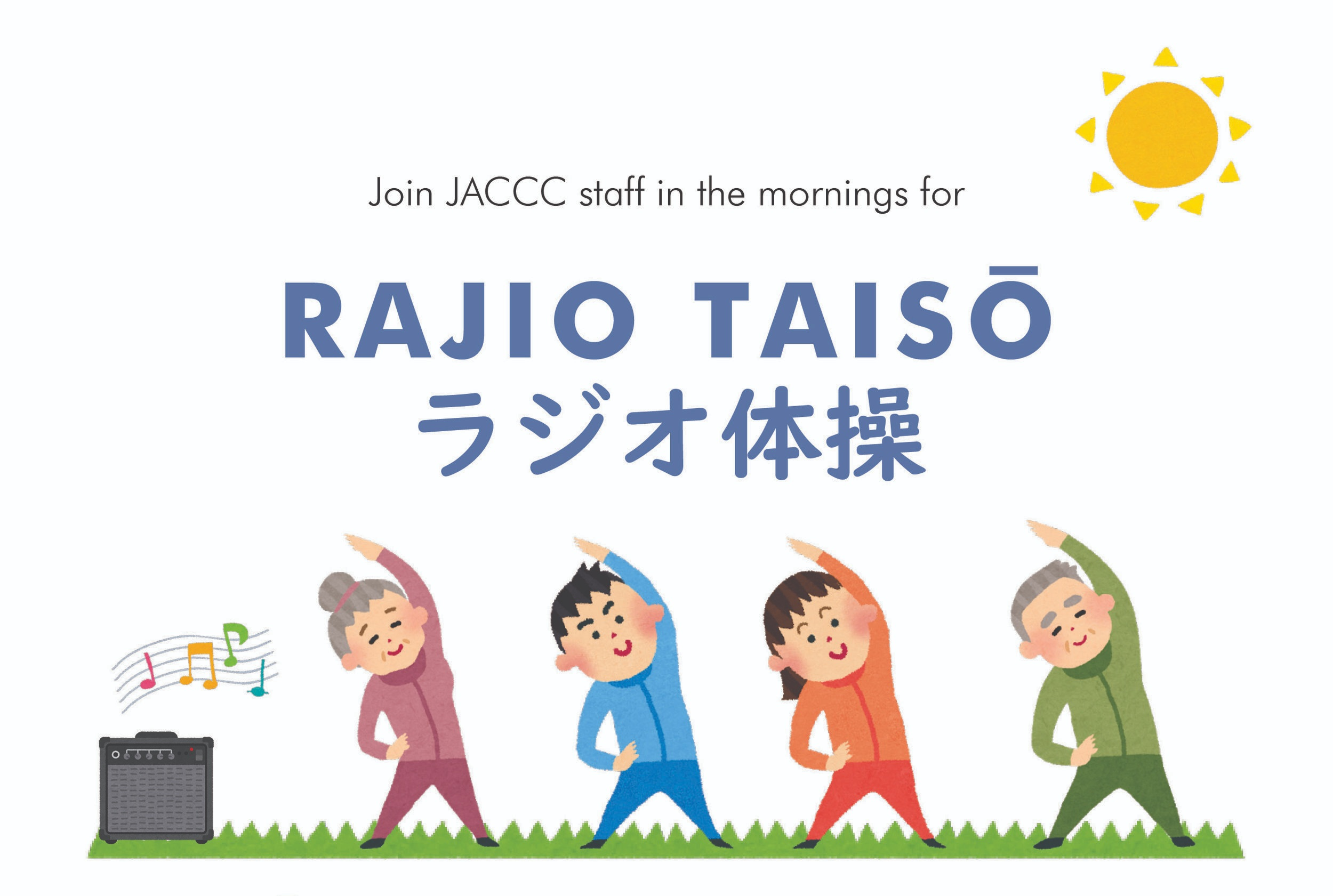 Kết quả hình ảnh cho Rajio Taiso