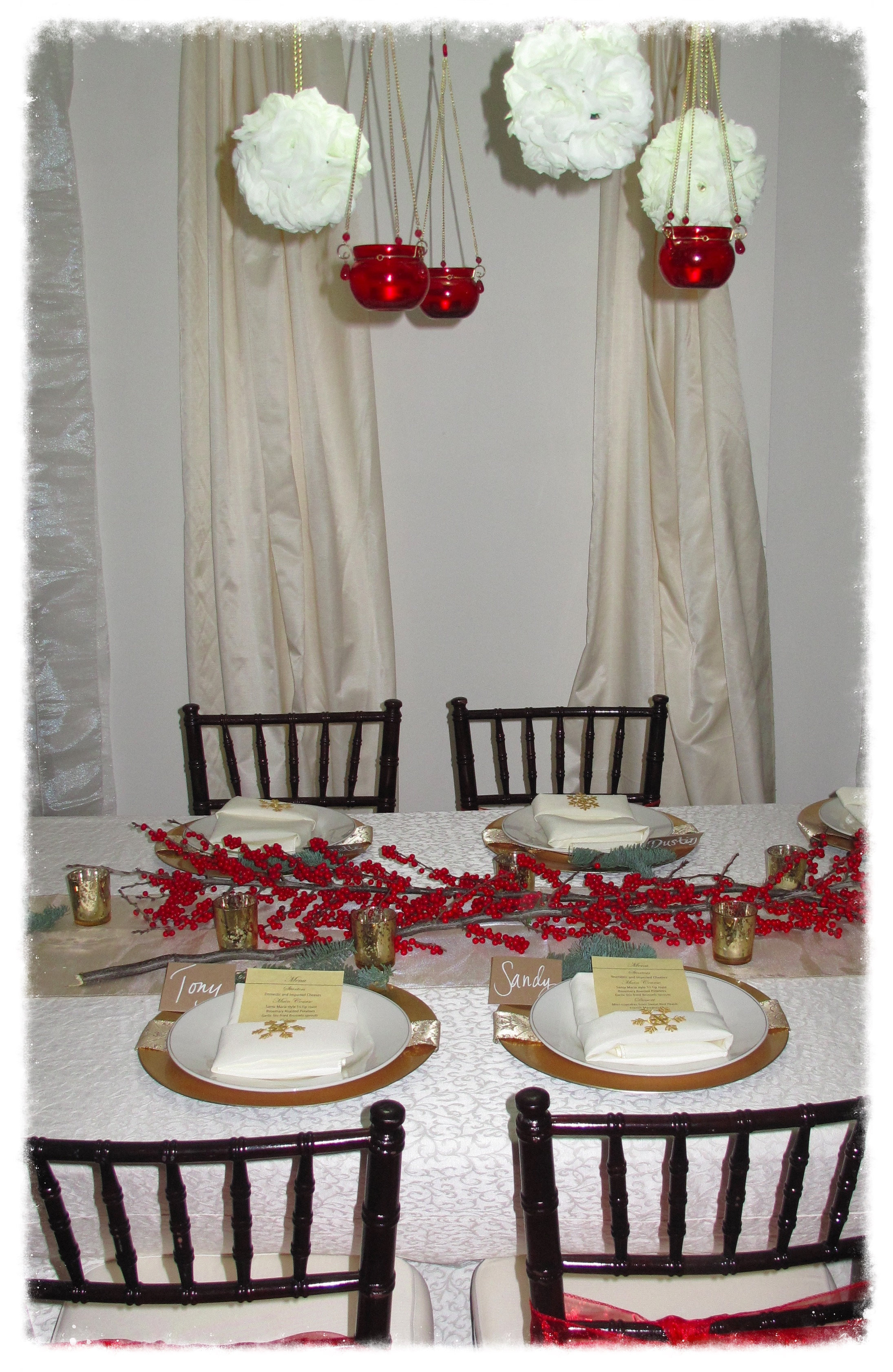 Intimate Holiday Dinner Party