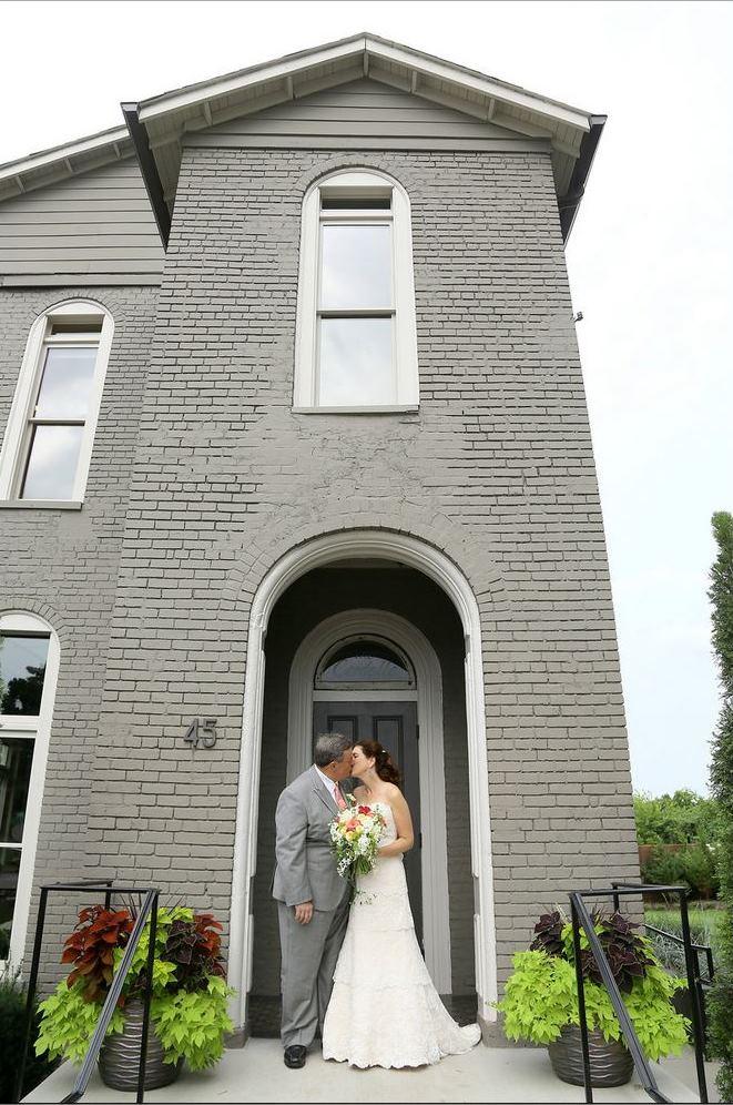cordelle nashville bride and groom