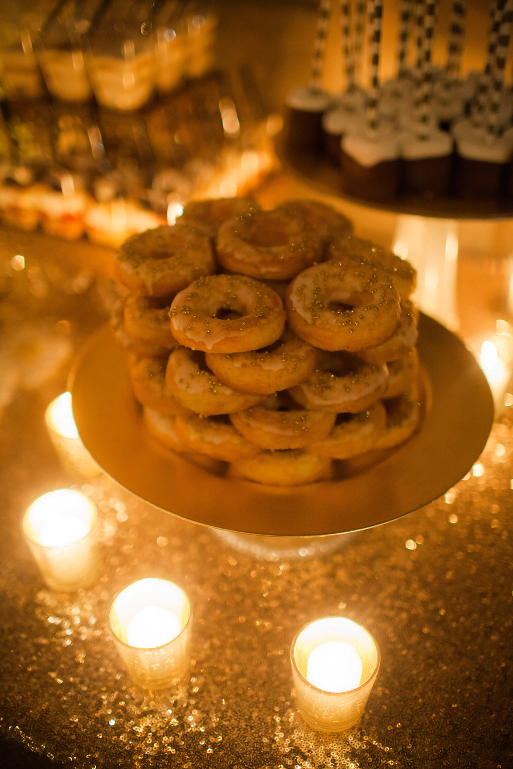 dessert table doughnuts