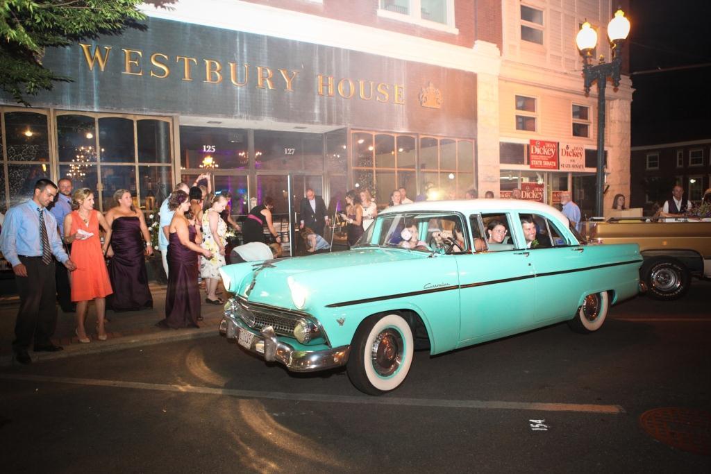 vintage car westbury house columbia tn