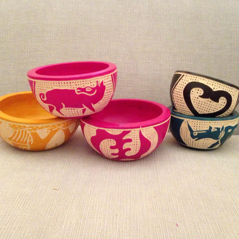 Bowls made by Adi.
