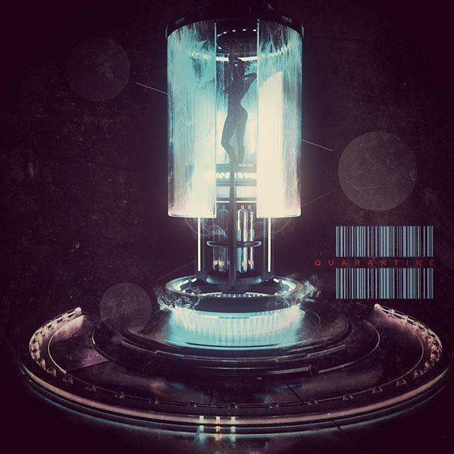 Quarantine. Bit of a lack of inspiration lately, need to do more hallucinogens :) #c4d #cinema4d #octanerender