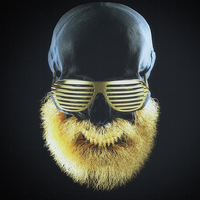 If I can could grow a proper beard this is what it would look like, maybe #cinema4d #c4d #octanerender #beard