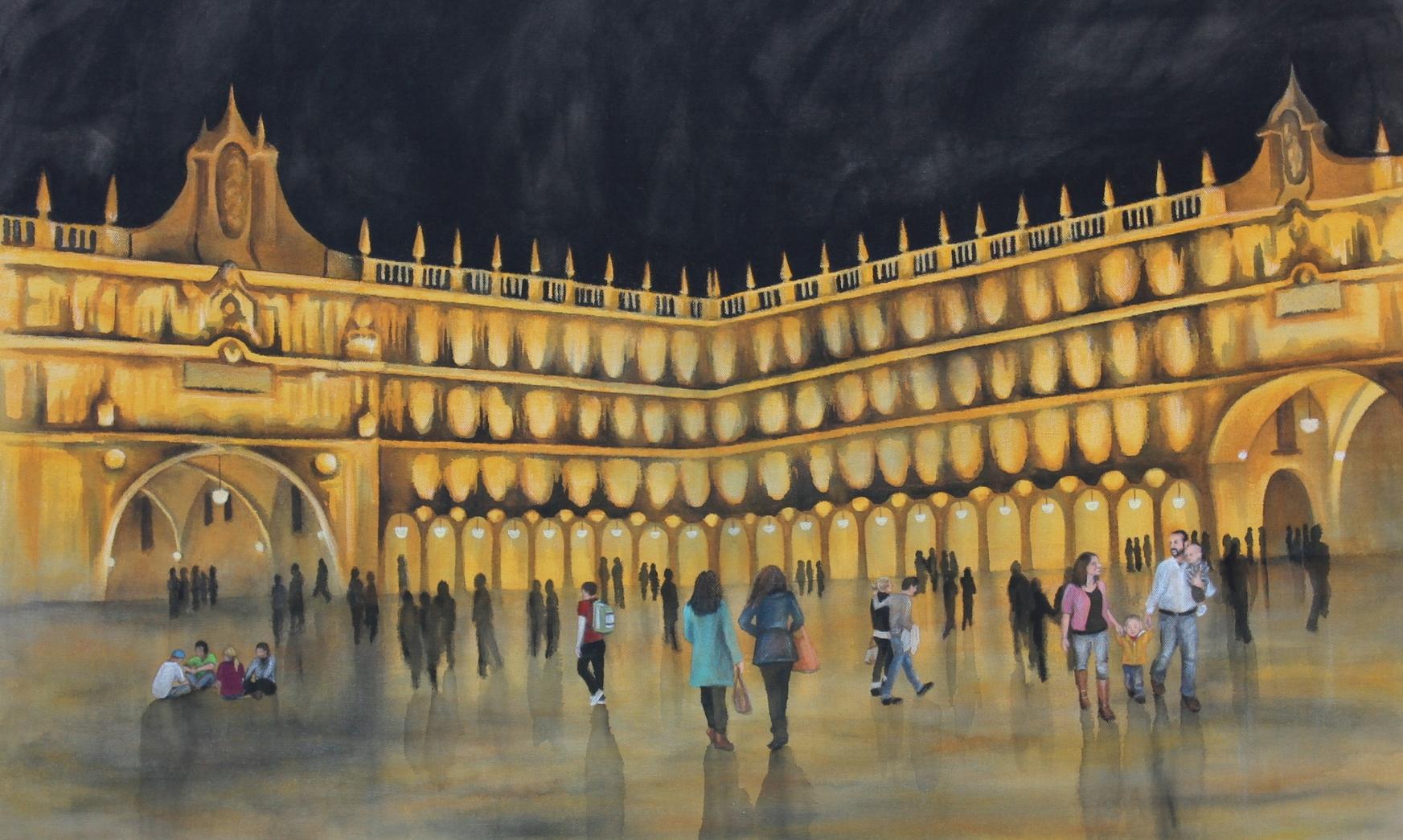Plaza Mayor, Salamanca 34X21